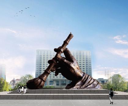 天津雕塑|善大雕塑|城市雕塑|雕塑作品